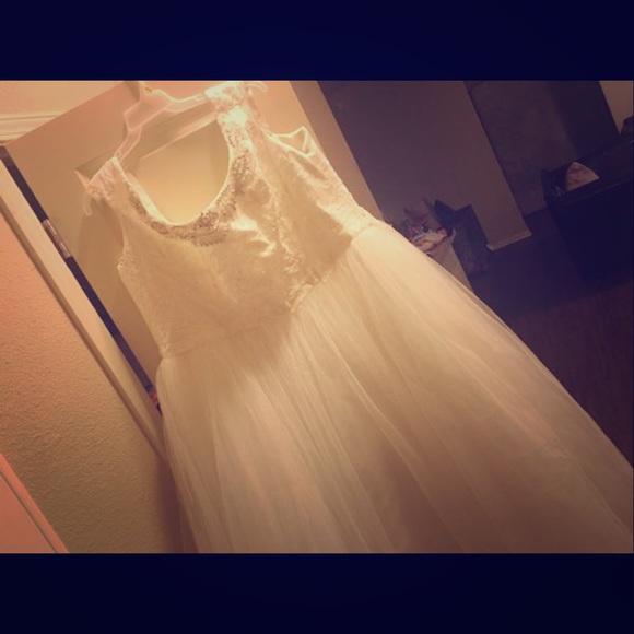 Oleg Cassini Dresses & Skirts - Plus size wedding dress